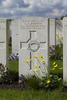 Headstone of Lance Corporal George Arthur Brown (27209). Wulverghem-Lindenhoek Road Military Cemetery, Heuvelland, West-Vlaanderen, Belgium. New Zealand War Graves Trust (BEEW8602). CC BY-NC-ND 4.0.