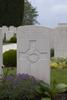 Headstone of Lance Corporal Herbert James Allison (25426). New Irish Farm Cemetery, Ieper, West-Vlaanderen, Belgium. New Zealand War Graves Trust (BECY0611). CC BY-NC-ND 4.0.
