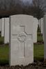 Headstone of Private Eric Douglas Alexander (10/3824). Hooge Crater Cemetery, Ieper, West-Vlaanderen, Belgium. New Zealand War Graves Trust (BEBS6712). CC BY-NC-ND 4.0.