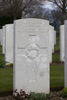 Headstone of Private Alexander Dewar (15148). Hooge Crater Cemetery, Ieper, West-Vlaanderen, Belgium. New Zealand War Graves Trust (BEBS6799). CC BY-NC-ND 4.0.