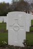 Headstone of Private John Thomas Gibson (49887). Hooge Crater Cemetery, Ieper, West-Vlaanderen, Belgium. New Zealand War Graves Trust (BEBS6753). CC BY-NC-ND 4.0.