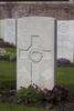 Headstone of Rifleman William James De Blois (38137). Birr Cross Roads Cemetery, Ieper, West-Vlaanderen, Belgium. New Zealand War Graves Trust (BEAM6980). CC BY-NC-ND 4.0.