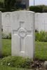 Headstone of Rifleman Joseph Patrick McGovern (54565). Tyne Cot Cemetery, Zonnebeke, West-Vlaanderen, Belgium. New Zealand War Graves Trust (BEEG2045). CC BY-NC-ND 4.0.