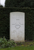 Headstone of Flight Sergeant Keith Williamson Morrison (404396). Brussels Town Cemetery, Evere, Belgium. New Zealand War Graves Trust (BEAO5789). CC BY-NC-ND 4.0.