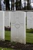 Headstone of Rifleman William Cecil Travis (49031). Buttes New British Cemetery, Polygon Wood, Zonnebeke, West-Vlaanderen, Belgium. New Zealand War Graves Trust (BEAR6461). CC BY-NC-ND 4.0.