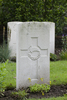 Headstone of Private Leonard Herbert Sowry (32242). London Rifle Brigade Cemetery, Comines-Warneton, Hainaut, Belgium. New Zealand War Graves Trust (BECO1208). CC BY-NC-ND 4.0.