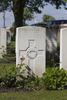 Headstone of Private Cecil Arthur Amos (38254). Poelcapelle British Cemetery, Langemark-Poelkapelle, West-Vlaanderen, Belgium. New Zealand War Graves Trust (BEDJ8883). CC BY-NC-ND 4.0.