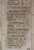 Headstone of Sergeant Philip Amos (9/1522). Buttes New British Cemetery (N.Z.) Memorial, Polygon Wood, Zonnebeke, West-Vlaanderen, Belgium. New Zealand War Graves Trust (BEAQ6276). CC BY-NC-ND 4.0.