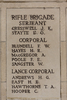 Headstone of Lance Corporal Henry Gauntlett Andrews (32929). Buttes New British Cemetery (N.Z.) Memorial, Polygon Wood, Zonnebeke, West-Vlaanderen, Belgium. New Zealand War Graves Trust (BEAQ6270). CC BY-NC-ND 4.0.