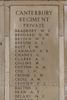 Headstone of Private William Edward Bradbury (46547). Buttes New British Cemetery (N.Z.) Memorial, Polygon Wood, Zonnebeke, West-Vlaanderen, Belgium. New Zealand War Graves Trust (BEAQ6286). CC BY-NC-ND 4.0.