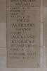 Headstone of Company Quartermaster Sergeant Robert Ernest Keast Hodge (11790). Buttes New British Cemetery (N.Z.) Memorial, Polygon Wood, Zonnebeke, West-Vlaanderen, Belgium. New Zealand War Graves Trust (BEAQ6281). CC BY-NC-ND 4.0.