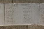 Headstone of Rifleman Ralph Burman Adams (19100). Messines Ridge (N.Z.) Memorial, Mesen, West-Vlaanderen, Belgium. New Zealand War Graves Trust (BECS5990). CC BY-NC-ND 4.0.