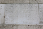 Headstone of Second Lieutenant Rowland Thomas Baxter (12/703). Messines Ridge (N.Z.) Memorial, Mesen, West-Vlaanderen, Belgium. New Zealand War Graves Trust (BECS6004). CC BY-NC-ND 4.0.