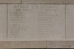 Headstone of Private Herbert Carter (15687). Messines Ridge (N.Z.) Memorial, Mesen, West-Vlaanderen, Belgium. New Zealand War Graves Trust (BECS5983). CC BY-NC-ND 4.0.