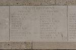 Headstone of Private Ernest Hopetoun Guthrie (8/2430). Messines Ridge (N.Z.) Memorial, Mesen, West-Vlaanderen, Belgium. New Zealand War Graves Trust (BECS5889). CC BY-NC-ND 4.0.