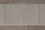 Headstone of Private Charles Henry Joynt (38713). Messines Ridge (N.Z.) Memorial, Mesen, West-Vlaanderen, Belgium. New Zealand War Graves Trust (BECS5985). CC BY-NC-ND 4.0.