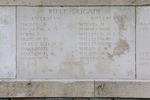 Headstone of Rifleman Richard Thomas (44171). Messines Ridge (N.Z.) Memorial, Mesen, West-Vlaanderen, Belgium. New Zealand War Graves Trust (BECS5996). CC BY-NC-ND 4.0.