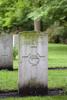 Headstone of Flight Lieutenant John Antony Coulson Fowler (415439). Adegem Canadian War Cemetery, Belgium. New Zealand War Graves Trust (BEAA0543). CC BY-NC-ND 4.0.