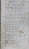 Headstone of Second Lieutenant Edwin Bolton Bennett (24326). Tyne Cot Memorial, Zonnebeke, West-Vlaanderen, Belgium. New Zealand War Graves Trust (BEEH7923). CC BY-NC-ND 4.0.