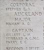 Headstone of Second Lieutenant Edwin George Ellis (25992). Tyne Cot Memorial, Zonnebeke, West-Vlaanderen, Belgium. New Zealand War Graves Trust (BEEH7871). CC BY-NC-ND 4.0.