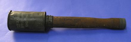 grenade, stick - Collections Online - Auckland War Memorial Museum