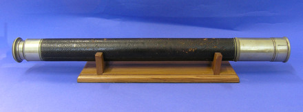 telescope, C Reginald Ford, Scott's First Antarctic Expedition, 1901-1904 [1978.68.1] side view