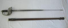 British Pattern 1897 Infantry officers sword & sca...