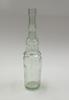 'Champions Vinegar' bottle tall glass bottle; aqua...
