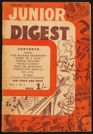 Junior digest : the magazine for girls and boys