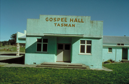 Gospel Hall, Tasman.