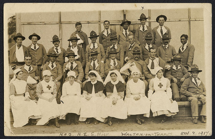 No2 N.Z.G. Hosp Walton-on-Thames. Oct 8. 1917.