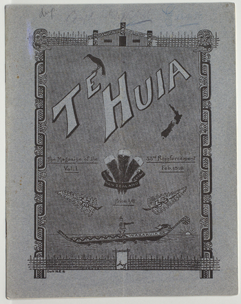 Te huia : the magazine of the 33rd Reinforcement