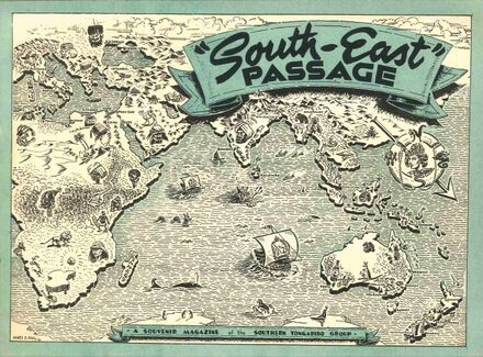 South-east passage : a souvenir magazine of the Southern Tongariro Group