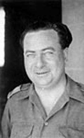 Father Edward Forsman in North Africa in WW2