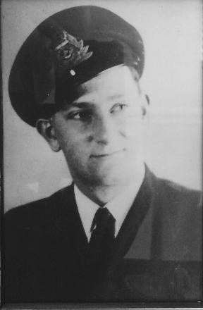 During service in Merchant Navy, somewhere around 1942