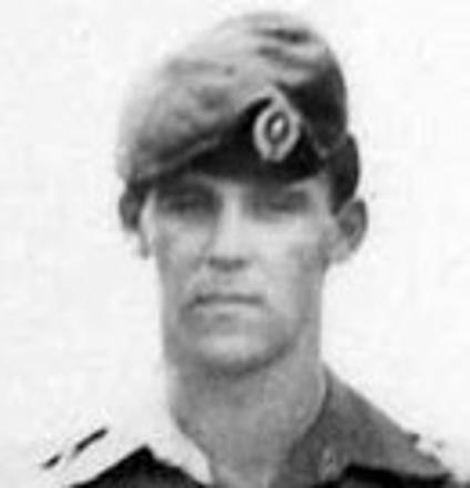 A41515 John Edward BARKLE (W2&3, Spt Coy 76/78) 16 September 2004 aged 64 (died in his sleep), Avonhead Park Cemetery, Christchurch - Block R Plot 64. (RFCS-1964) [-43.5089, 172.54732]