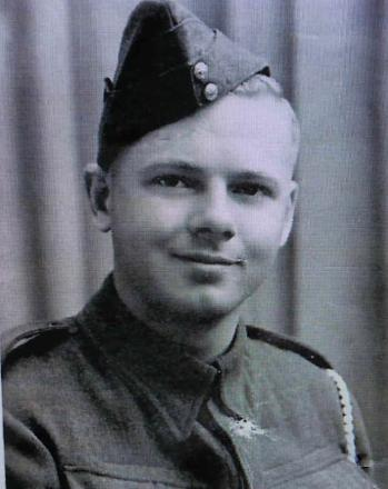 The service photo of Lawrence McCormick