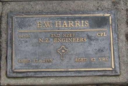 Taruhera Cemetery, Gisborne. Soldiers memorials Died 17 June 1985.