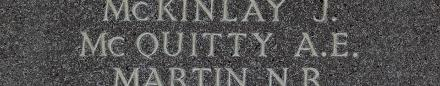 Albert's name is inscribed inside Runnymede Memorial.
