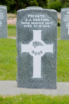 Photographed in Karori Cemetery, Wellington in December 2016