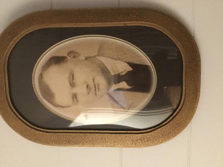 Photograph portrait of Hugh