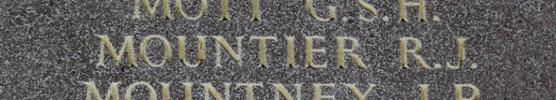 Russell's name is inscribed inside Runnymede Memorial. - No known copyright restrictions.