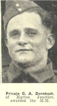 Portrait of Private Cyril Alfred DORNBUSH MM