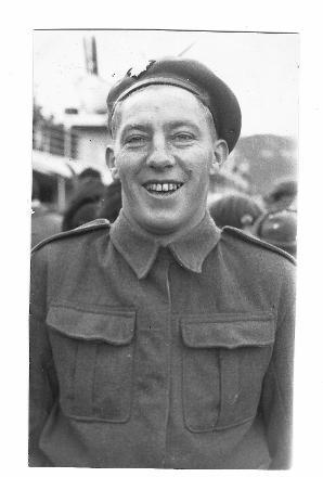 Denness Stephen Gilbert (s/n 206481) in uniform