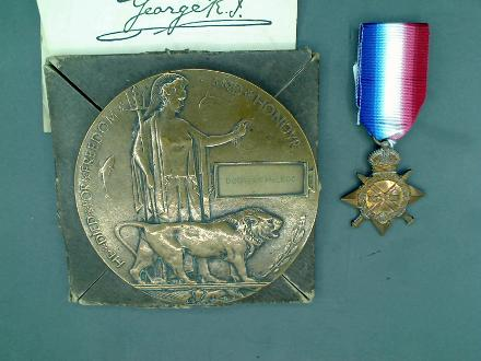 Douglas Norman McLeod Memorial & Medal