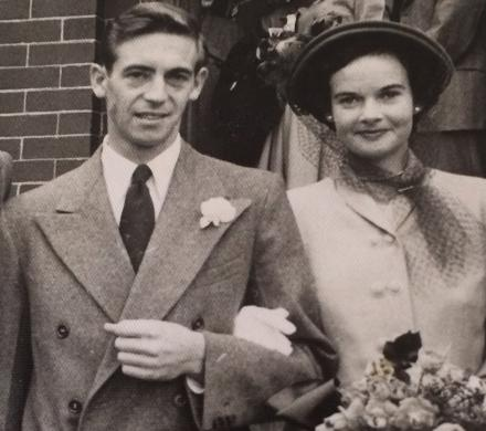 Wedding Day in 1950