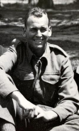 photo of Bob Mankelow, cropped from a group photo