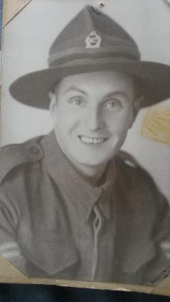 Dad in his splendid Army uniform