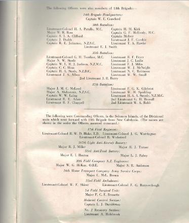 Ex Officers' Book, 14th Brigade
