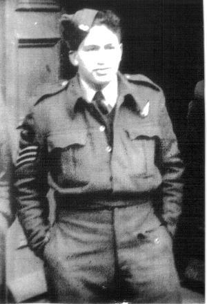 Keina in his uniform